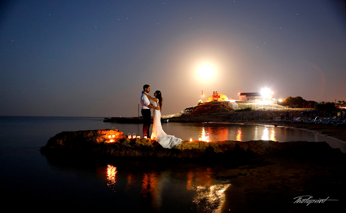 Nick and Joanna's Wedding at Ay. Dometios Chapel and Amazing Photo Shoot by the beach of Protaras - Cyprus  |  wedding photographers Protaras cyprus, wedding photographers Protaras