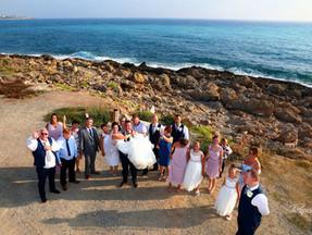 cyprus wedding photographer Paphos - Beach weddings