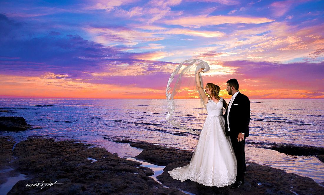 Professional wedding photography Paphos | Sunset photo shoot by the beach Paphos | Cyprus beach wedding | Bride & Groom Photography | Cyprus dream weddings,  weddings in cyprus, Packages & prices - Cyprus Beach Weddings