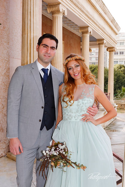 Happy couple after the wedding ceremony | nicosia wedding photoshoot locations, wedding photographers in Nicosia, wedding photography in nicosia