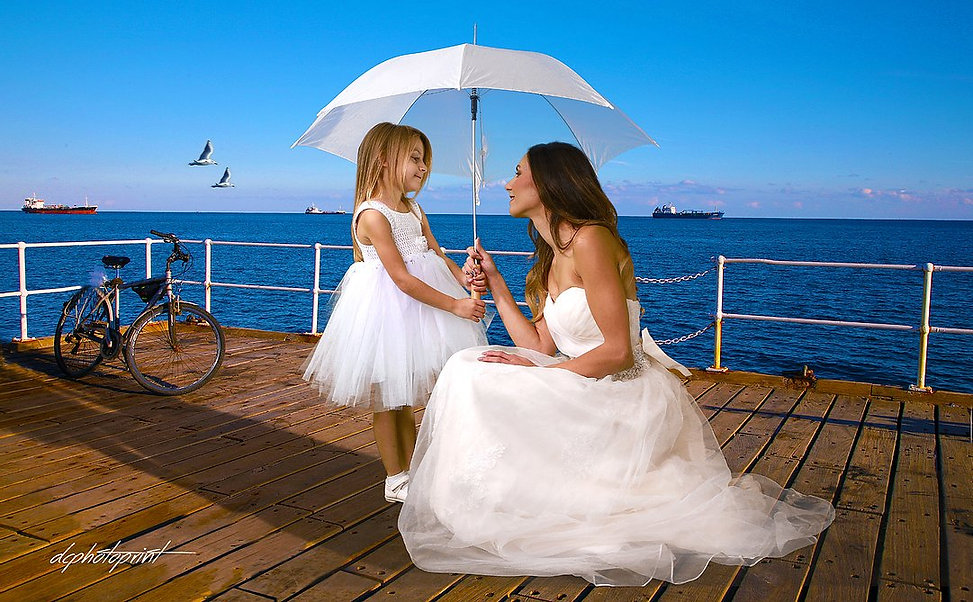 Krass and Kula's Beautiful Wedding photoshoot took place in Limassol and Pissouri  area.