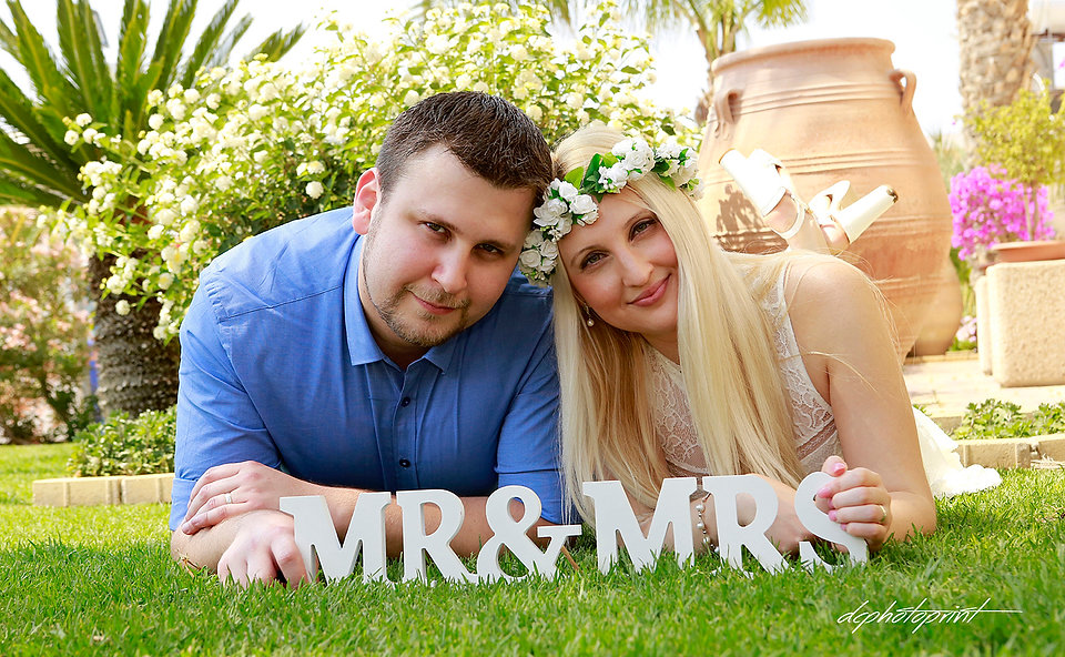 Our goal is to capture those moments & emotions of your wedding day naturally. Good sense of humor, respect & creativity makes us the best  like this photo by Maxim and Moran at Aradippou - Larnaca  Municipality