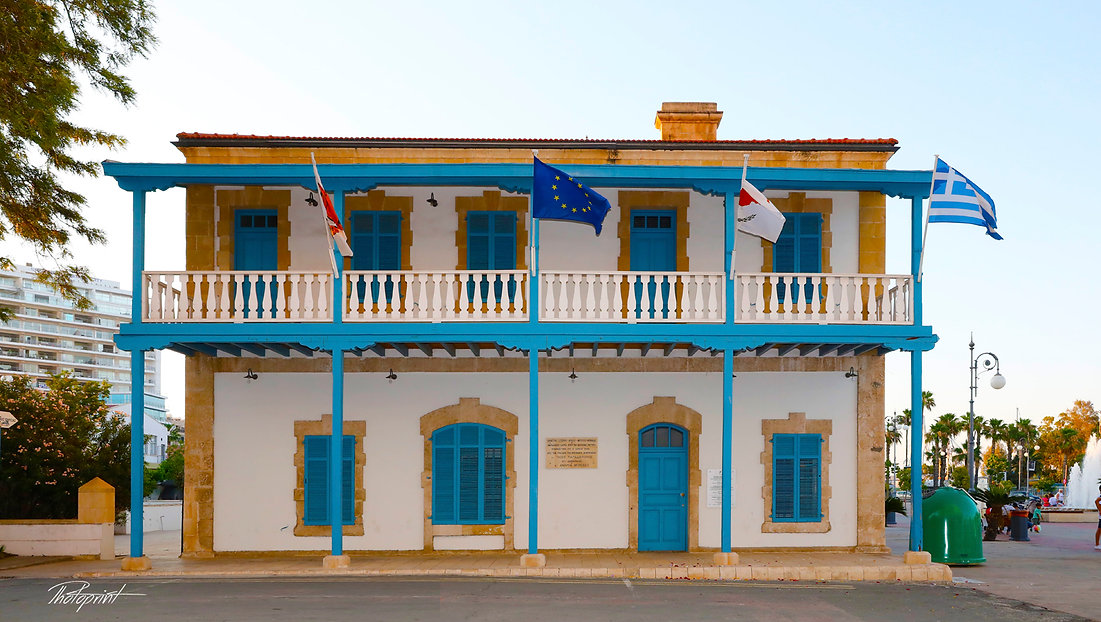 The new Municipality of Larnaca - Cyprus,  on  3 July  2018 | larnaca wedding photographers , larnaca municipality wedding photographers