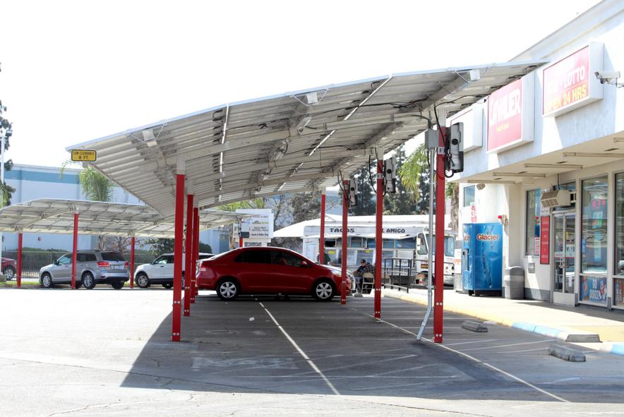 Lean Solar: Gas station