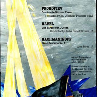 Harvard-Radcliffe Orchestra Concert Poster #1