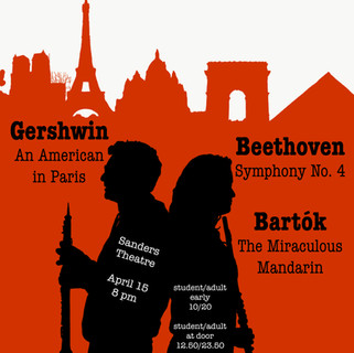 Harvard-Radcliffe Orchestra Concert Poster #3