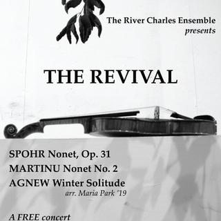 River Charles Ensemble Concert Poster #1