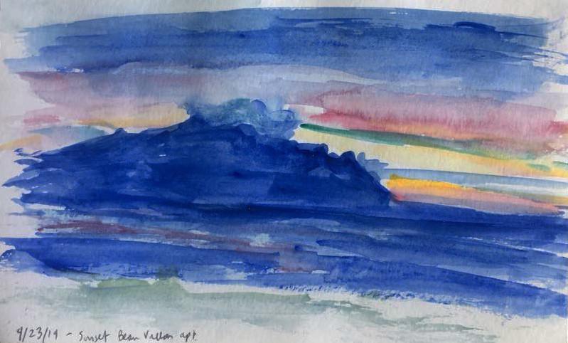 Beau Vallon Sunset 3