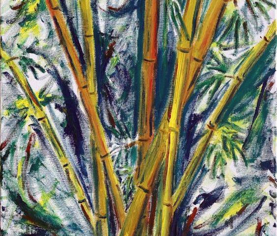 Yellow Bamboo for Vanessa