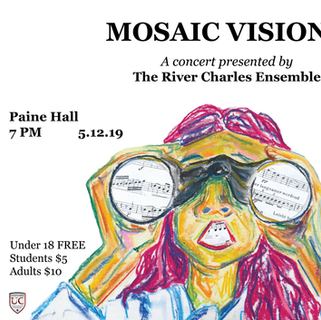 River Charles Ensemble Concert Poster #2