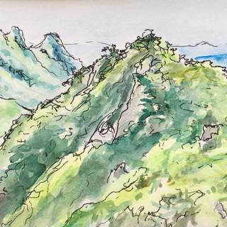 Gyeryong Mountain, S. Korea