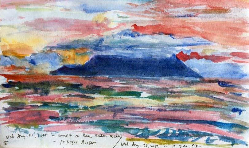 Beau Vallon Sunset 2