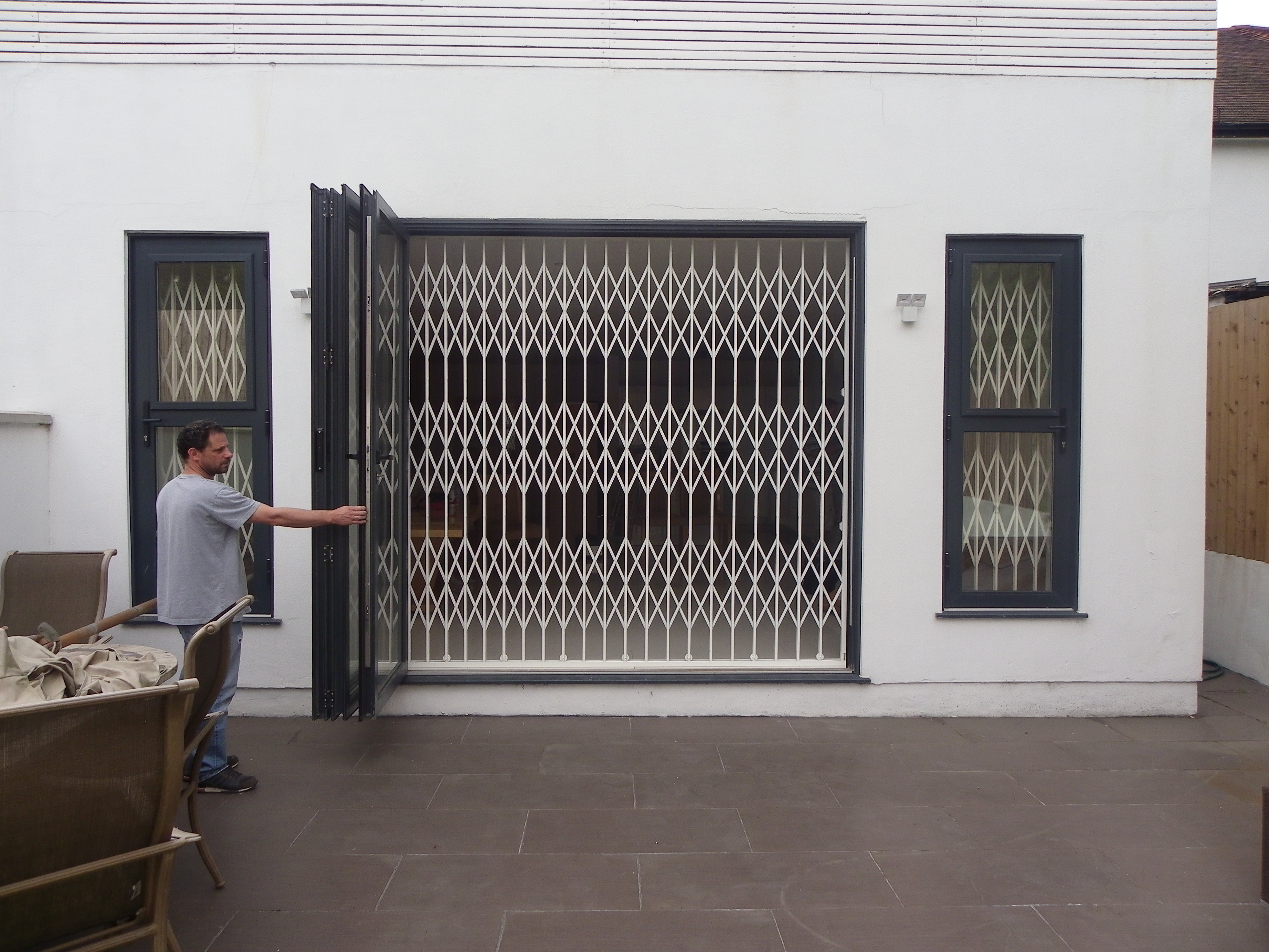 High Security Sliding Gates