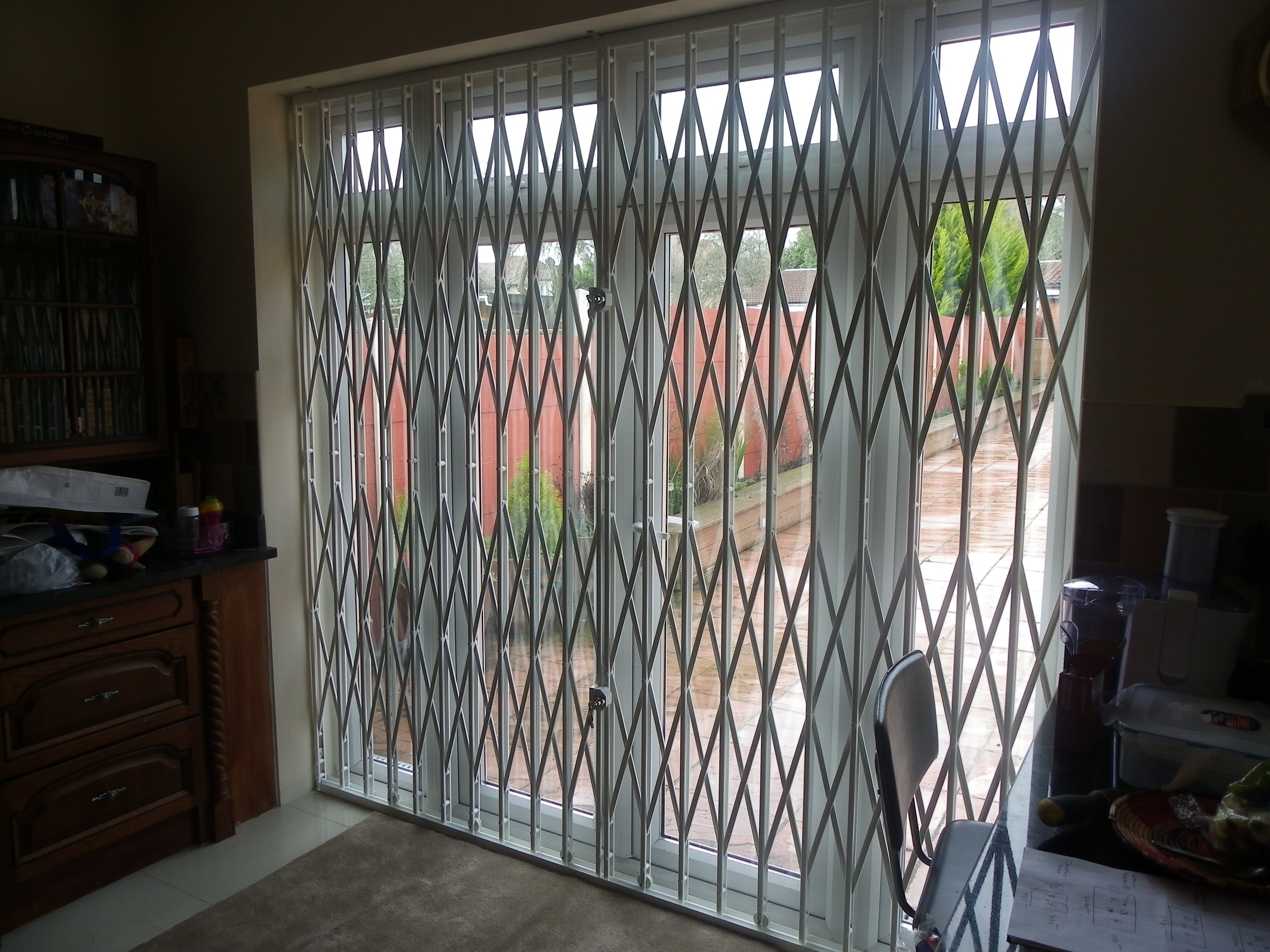 High Security Concertina Patio Gate