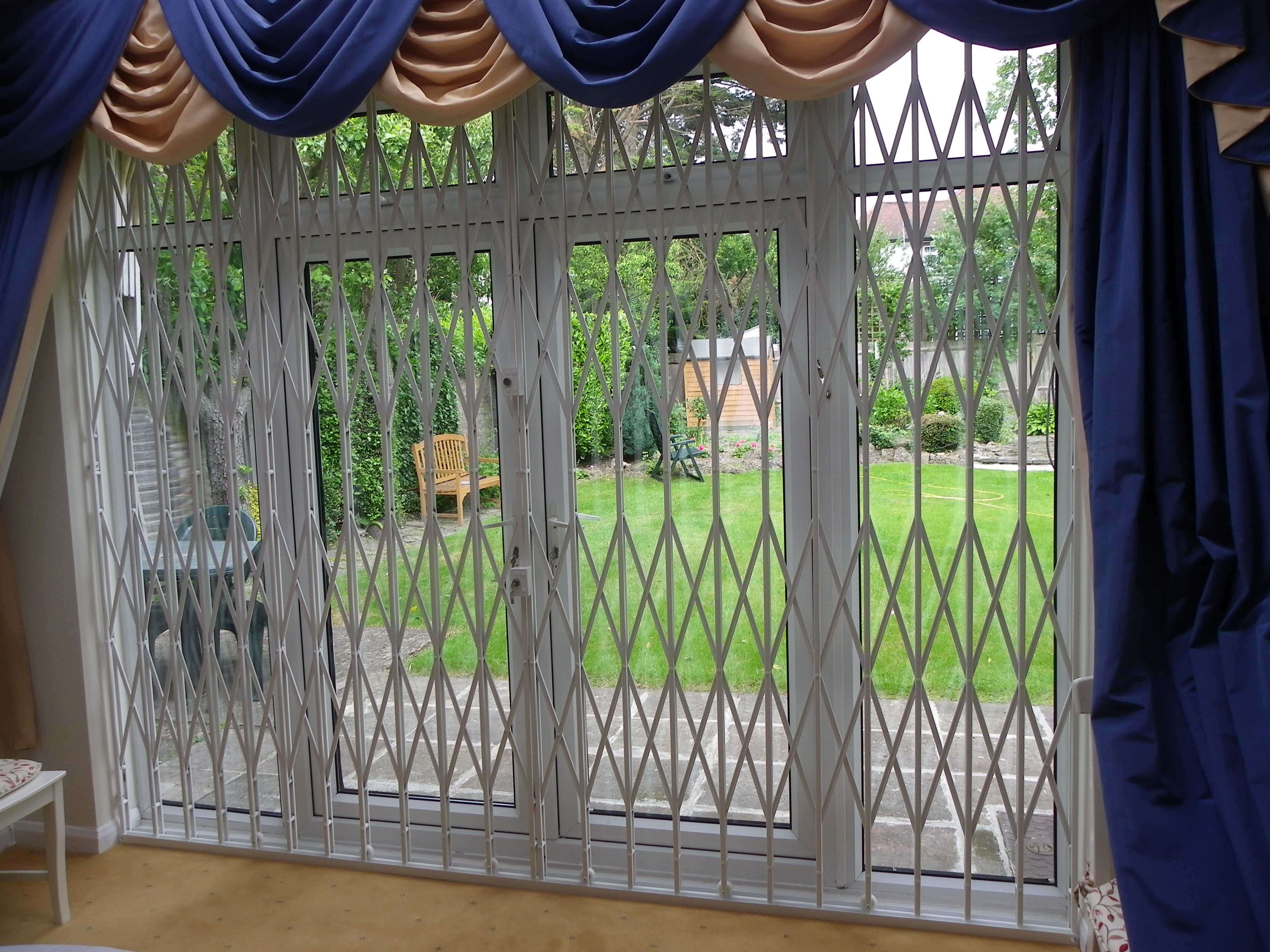 High Security Sliding Patio Gate