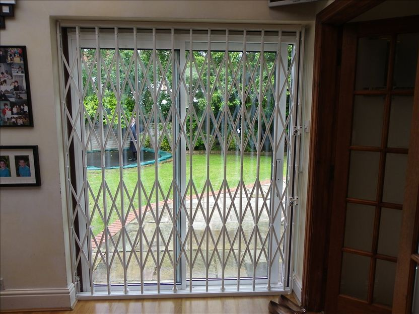 Patio Door Sliding Gate