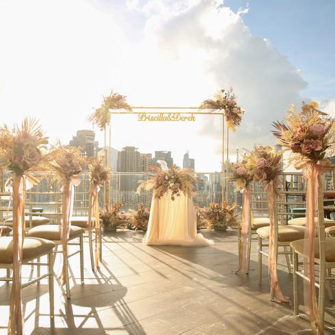 Roof-Top Ceremony