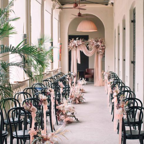 Parisian Style Verandah Wedding