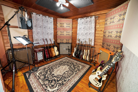 Iso booth at Stone Creek Sound