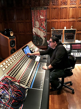 Producer Mack Damon at Stone Creek Sound