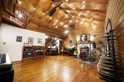 Live room at Stone Creek Sound