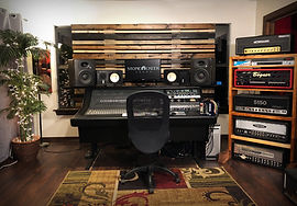 The Annex control room at Stone Creek Sound