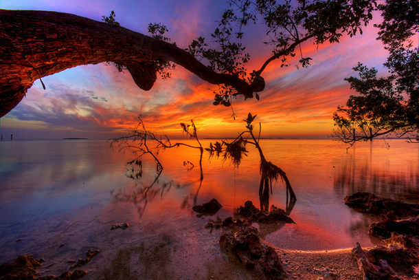 beautiful-sunset-Florida-Keys
