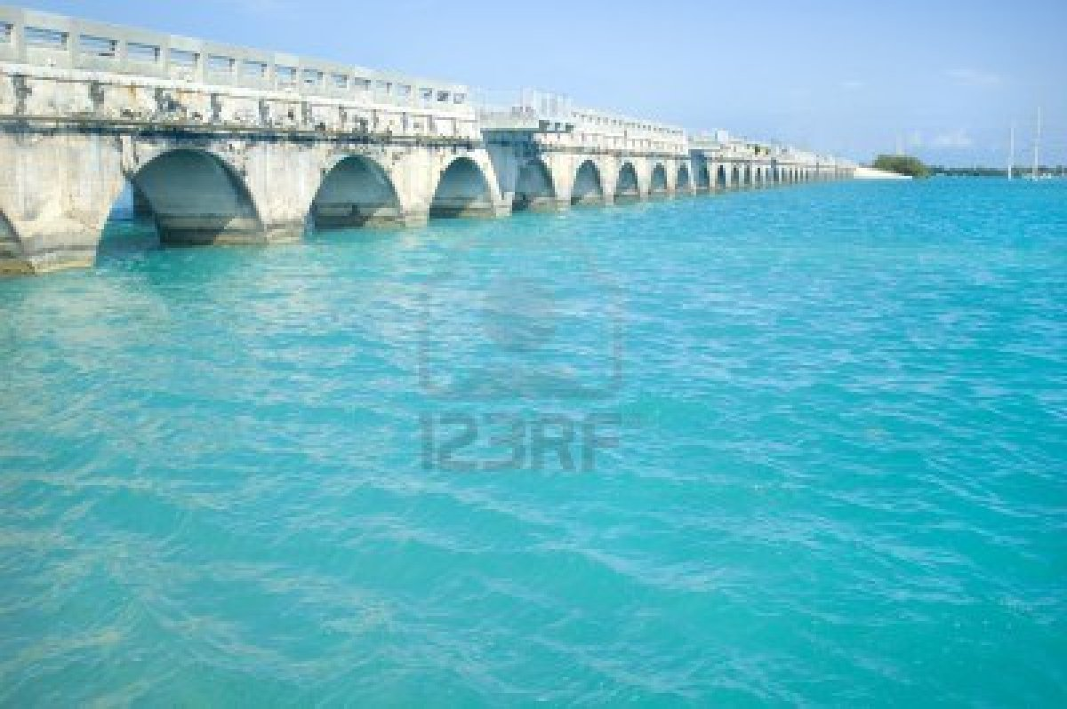 bridge-connecting-florida-keys-over-beautiful-caribbean-blue-water