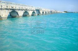 bridge-connecting-florida-keys-over-beautiful-caribbean-blue-water