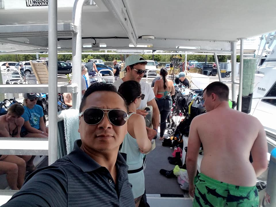 Selfie Islamorada Dive Center