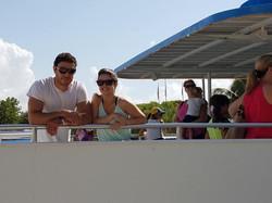 Aboard Botton Glass Boat