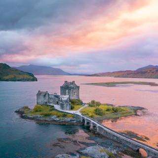 A classic Scottish castle