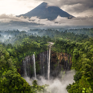 Award Winning Tumpak Suwe Waterfall - Indonesia
