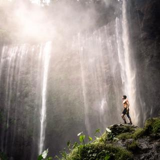 A thousand waterfalls