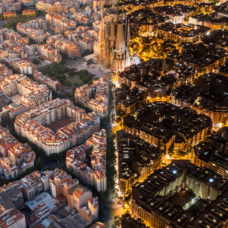 Day and Night in Barcalona