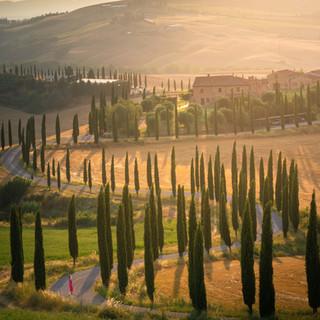 Winding roads of tuscany