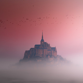 Magical morning in Normandy