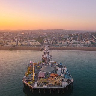 Sunset over Brighton
