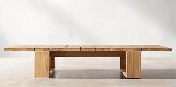 Elegant Teak Coffee Table.JPG