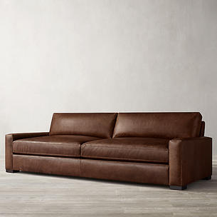 Classic 3 Seater Leather Sofa