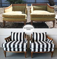 Before-And-After-DIY-Reupholstering-Furn