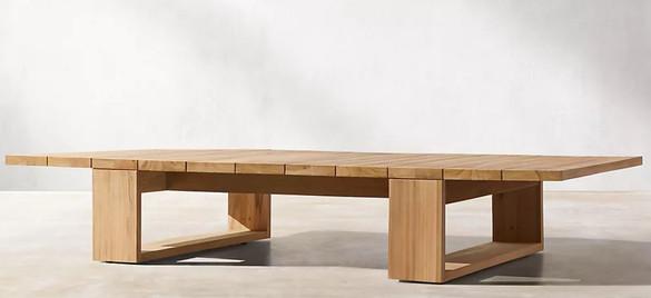 Elegant Teak Coffee Table 1.JPG