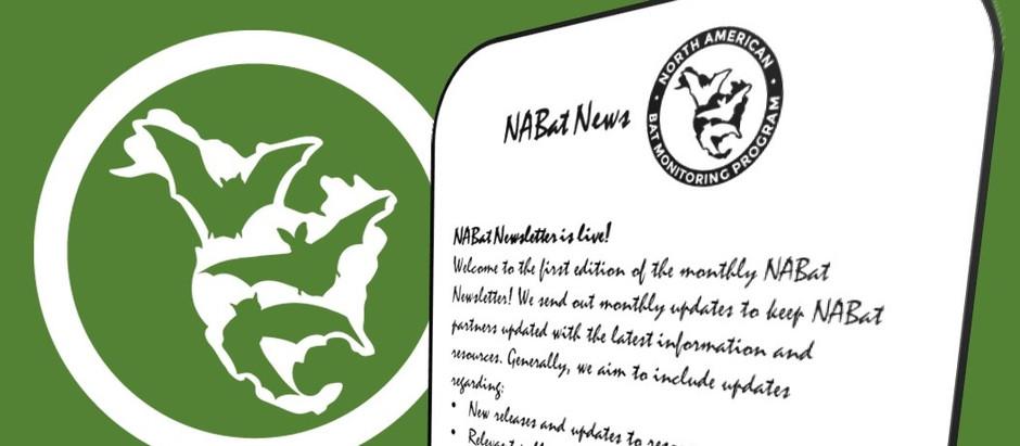 NABat Newsletter is Live!