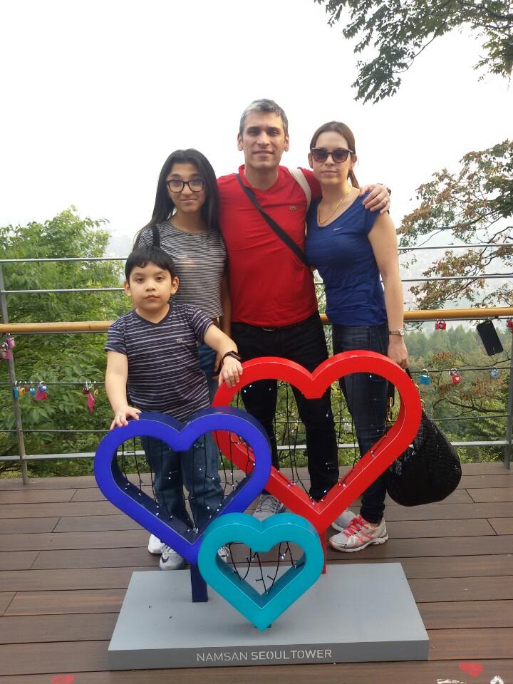 Namsan Tower Hearts Family