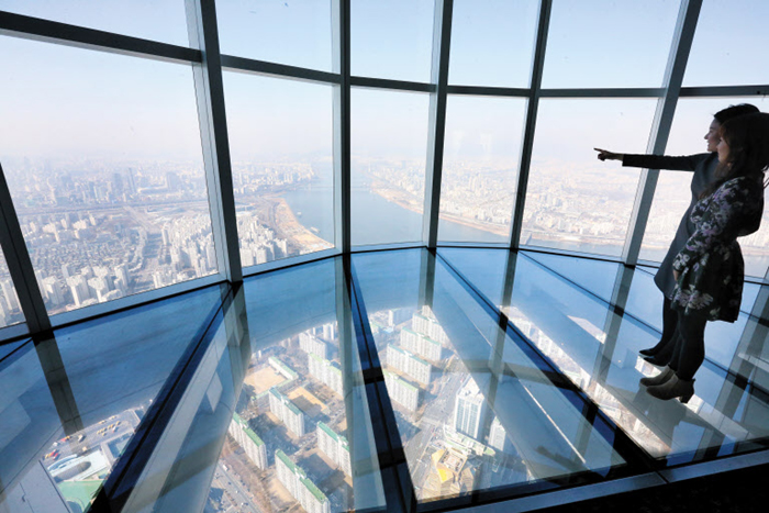 lotte world tower observatory