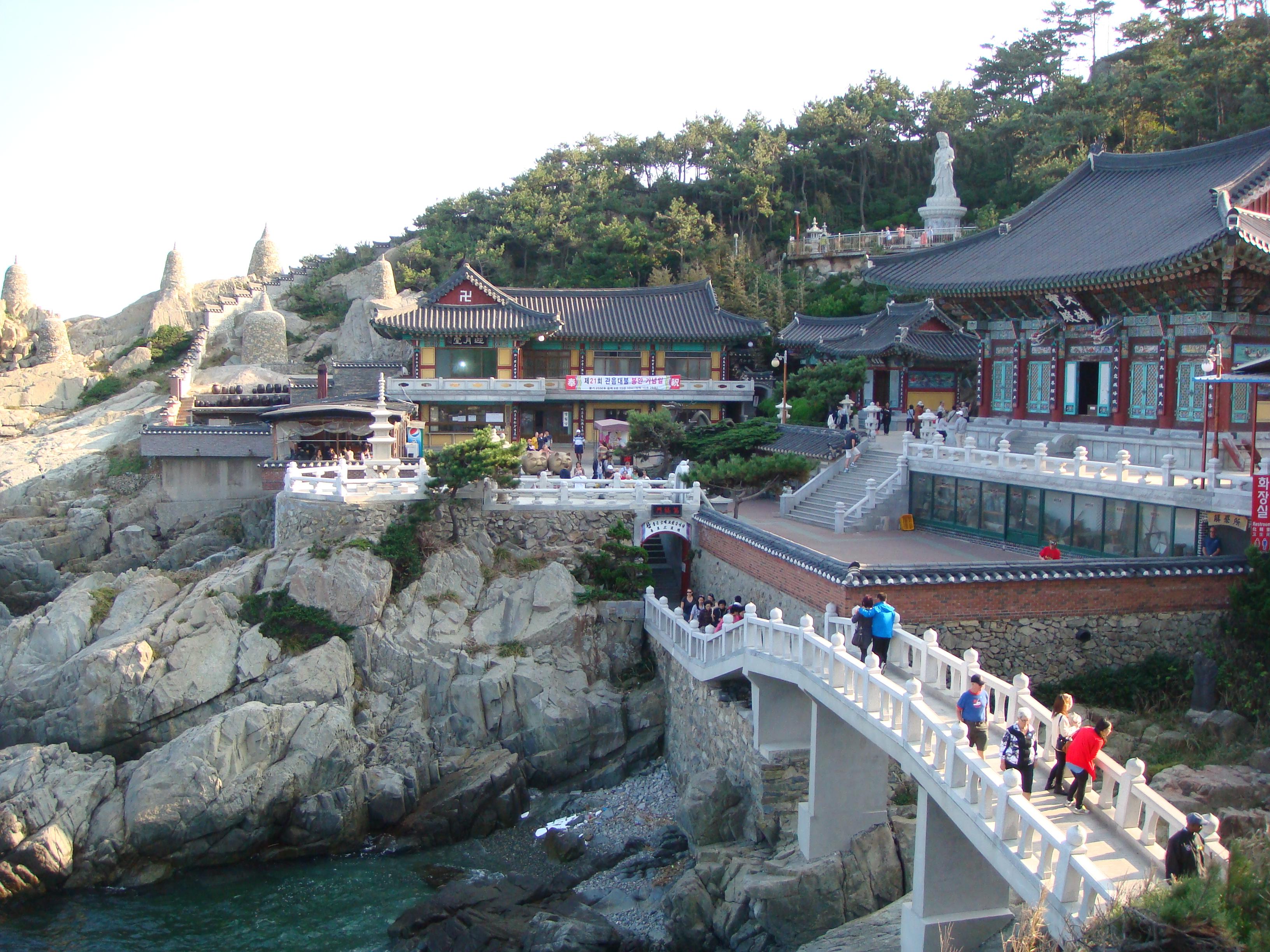 Haedong Yonggunsa Temple Busan