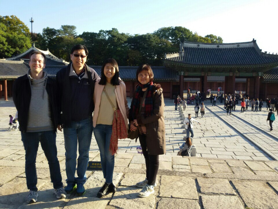 Changdeok Palace Family