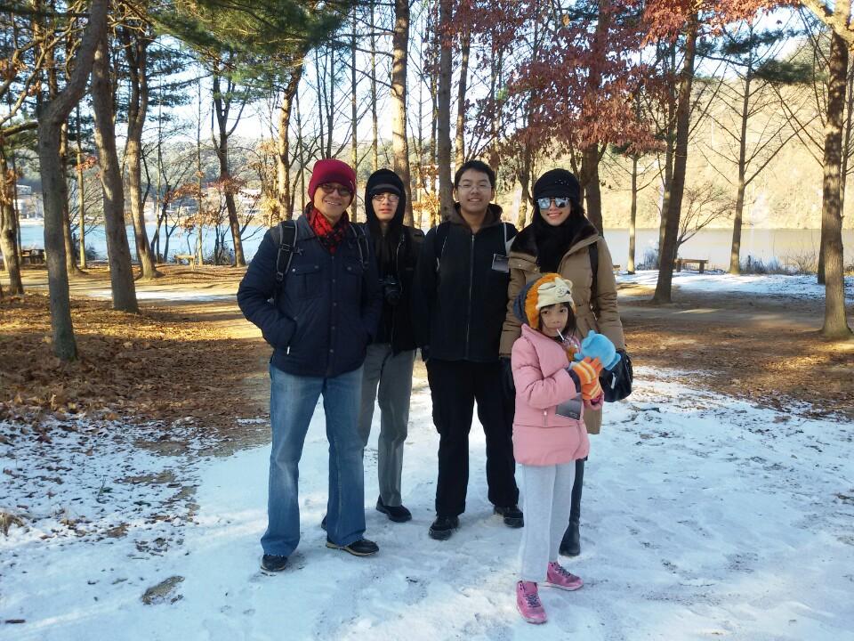 Nami Island Family