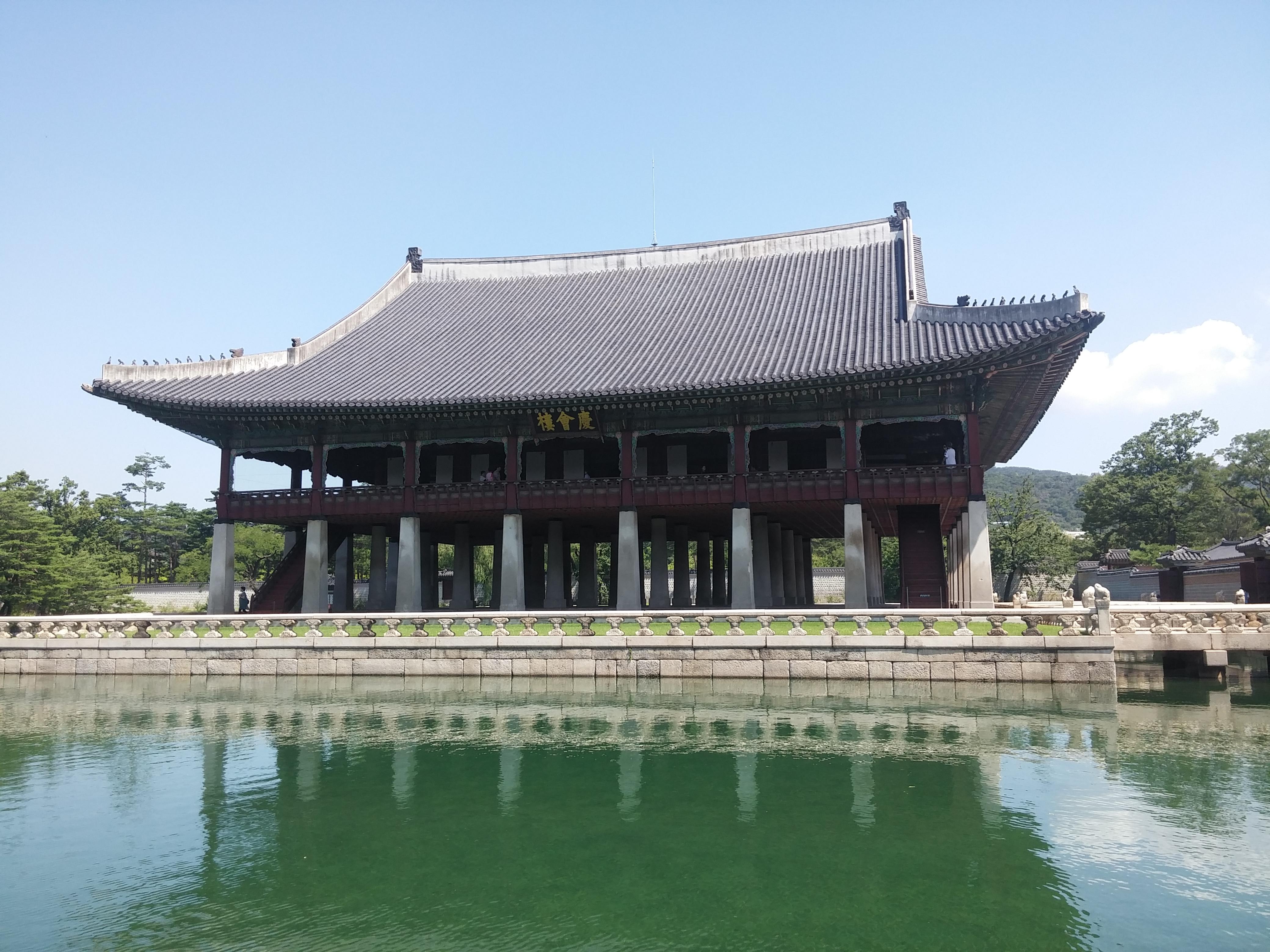 Pavilion in Gyeongbok Palace