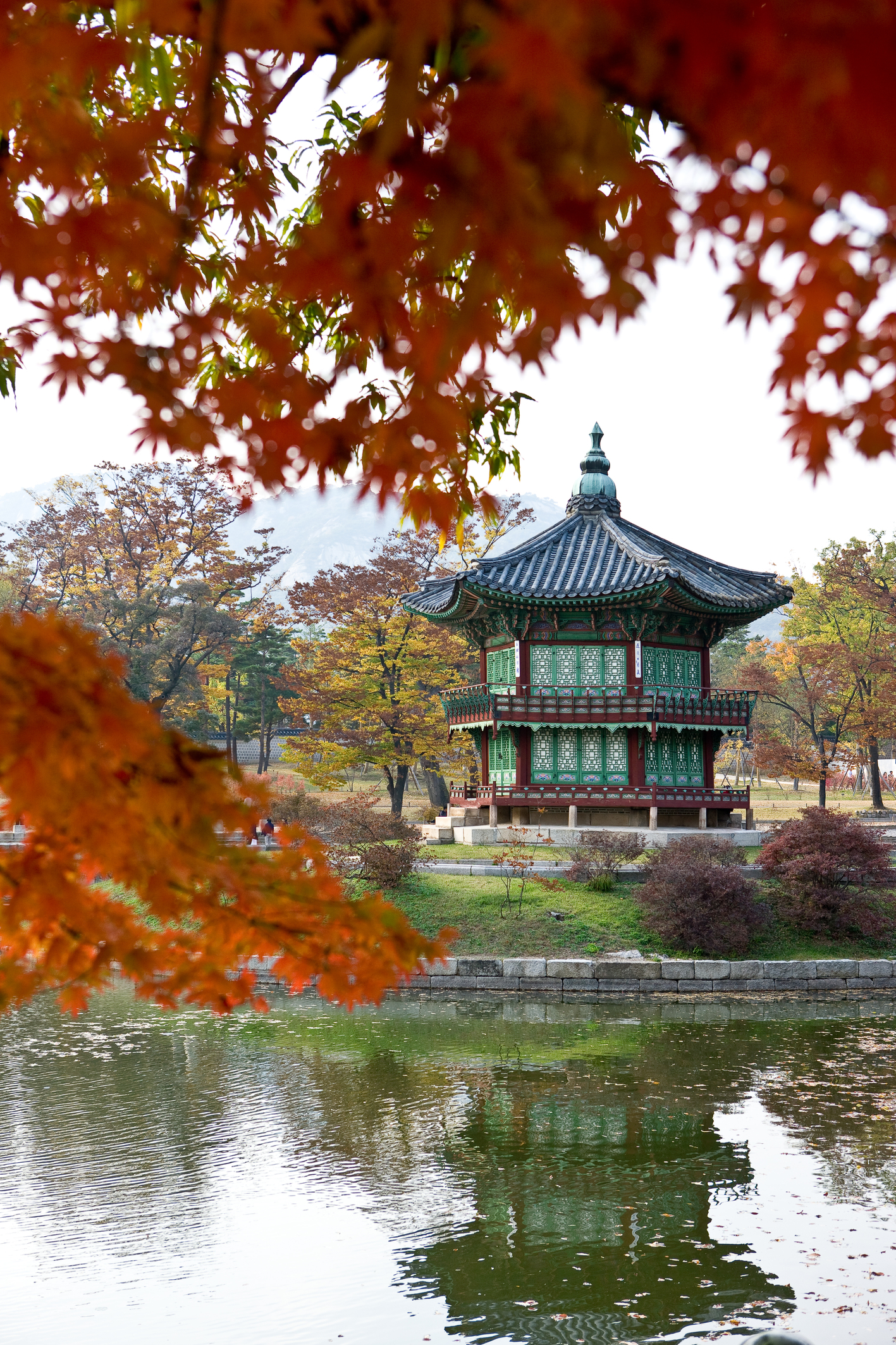Gyeongbok Palace in Autumn